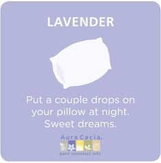 Benefits of lavender oil for relaxation and sleep.
