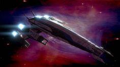 SSV Normandy SR-2 (Mass Effect 2, fanart by Stanislaw Cyganów)