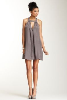 Box Pleated Short Dress on HauteLook