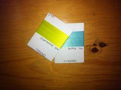 Yarn colors development process for 2013. September 2012 Desarrollo de colorido de hilos para el 2013. Septiembte 2012.