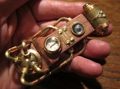 'The Collective' steampunk USB drive.
