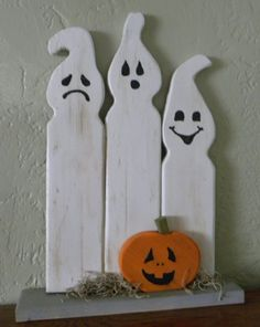 Halloween Ghosts Decoration by TheSkeletonsCloset on Etsy, $19.95