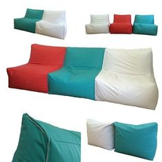 Image result for chillout tables poufs