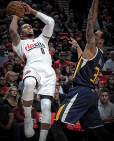 61454790a Damian Lillard dropping 39 points against the Jazz. He wants to be MVP  Damian Lillard