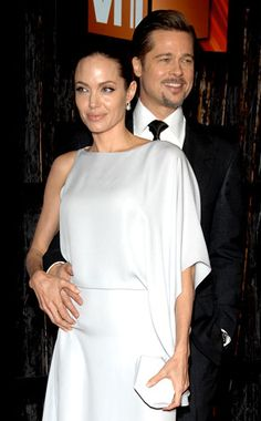 Brad Pitt & Angelina Jolie from The Big Picture: Today's Hot Photos Brad Pitt And Angelina Jolie, Celebrity Pics, Online Gallery, Big Picture, Hottest Photos, Chef Jackets, Celebrities, Pretty, Fashion