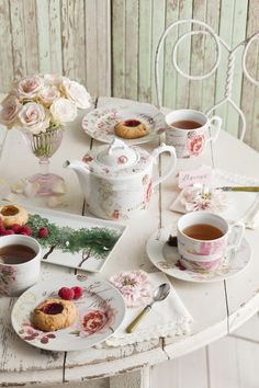 gorgeous tea party styling