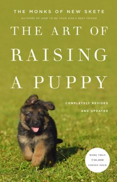 The Art of Raising a Puppy http://www.amazon.com/exec/obidos/ASIN/B0047Y0FC8/hpb2-20/ASIN/B0047Y0FC8 The book stresses the importance of understanding why your dog does things so you can help train/correct them the best way. - Very informative and easy to read. - I bought this book many years ago because the breeder of the German Shepherds I used to have was a great help to the monks of New Skete.