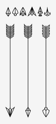 Tattoo arrow head ideas