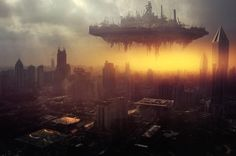 Brilliant Example of Matte Painting Gathered from Deviant Art Matte painting is the combination of 3D rendering, photographic elements, hand-painted