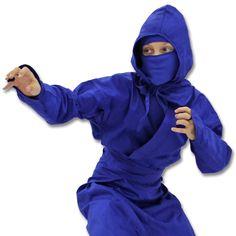 Kids Blue Ninja Uniform