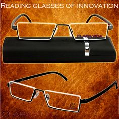Up-half Rim Modern business man gentlemen antireflective coating Non spherical reading glasses+1.0 +1.5 +2.0 +2.5 +3.0 +3.5+4.0