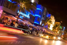 Best of Miami: 16 Favorite Moments-  By Lesley Abravanel.   Miami is a city where the paparazzi camp out for days hoping to catch a glimpse of something, or someone, fabulous; where former presidents pick at stone crabs while pop stars party until dawn; where Old Cuba meets the 21st century with a techno soundtrack; where you can do everything or nothing -- and that's just a small sampling of the surreal, Fellini-esque world that exists here.  Photo Caption: South Beach nightlife
