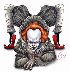 Flexible and Twistable Pennywise by XxLevanaxX