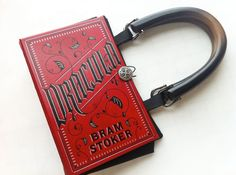 Dracula Book Purse or Book Clutch - Halloween Costume Purse - Vampire Costume on Etsy, $55.00