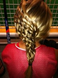 Basket weave braid, this is amazing.