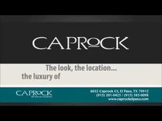 Live in luxury at Caprock #Apartments! Choose from 6 spacious floor plans that include a #townhome or loft. Come on over or call us to schedule an appointment to see your #futurehome today! http://www.caprockelpaso.com/ I 915.201.0425