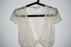 Cute Girly Beige Bolero
