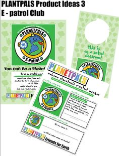 Planetpals E Patrol for the classroom :) Great Earthday Activity #homeschool #edchat #ecokids