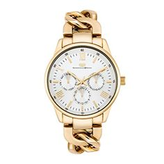 Rhodenwald & Söhne - Brana Ladie's Watch 3 ATM Multifunctions appearance - 10010268 Gold Watch, Chronograph, Watches, Lady, Silver, Accessories, Wristwatches, Clocks, Money