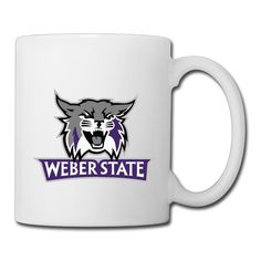 Weber State Wildcats Mug Coffee Mugs *** Don't get left behind, see this great cat product : Cat mug