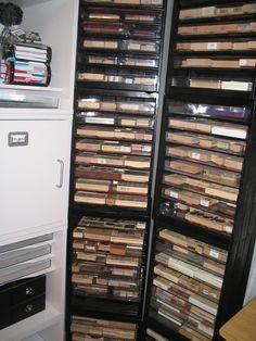 stamp storage ideas
