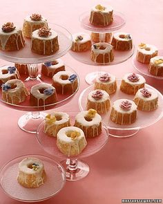 Mini Angel Wedding Cakes