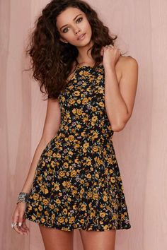 After Party Vintage Jen Floral Dress at Nasty Gal Day Dresses, Dresses Online, Cute Dresses, Dress Outfits, Evening Dresses, Floral Dresses, 90s Fashion, Fashion Outfits, Womens Fashion