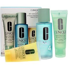 [SET] 3step Skin Care System4 by Clinique for Women Cosmetic 180ml