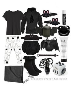 Designer Clothes, Shoes & Bags for Women Ddlg Outfits, Cute Emo Outfits, Pastel Goth Outfits, Little Boy Outfits, Gothic Outfits, Fashion Outfits, Deku Cosplay, Space Outfit, Chibi
