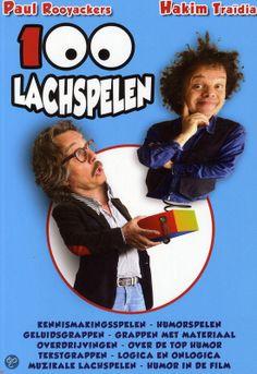 100 lachspelen : voor kinderen van 4-15 jaar -  Rooyackers, Paul -  plaats 622.1