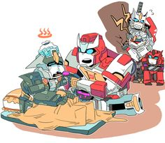 Coralus' personal blog — perceptor-percy:   By takja24 Awwww,poor Drift~...