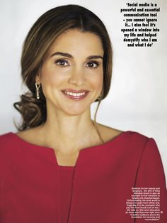 New photos with Queen Rania from pinner Rand Smadi's collection