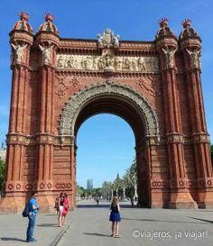 Barcelona. Arco del Triunfo  #barcelona #cataluña #spain #españa