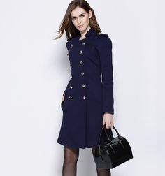 Aliexpress.com : Buy New arrival 2015 autumn winter brand elegant fashion women coat kate Princess double breasted military coats outerwear from Reliable coat orange suppliers on CocoChoose  | Alibaba Group