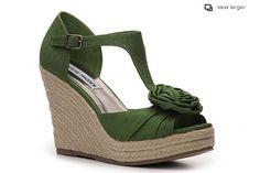 Steve Madden Veta Wedge Sandal  http://www.dsw.com/shoe/sm+women%27s+veta+wedge+sandal?prodId=241127=CROSS: