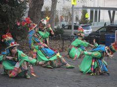 Incallajta coreo team dancing a promo for the Winter's Eve Fest on ABC in NY 2011