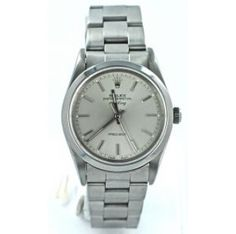 Second Hand Rolex Air King 14000 . Preowned watches from the UK's premier outlet for luxury watches. Second Hand Rolex, Rolex Air King, Watch Blog, Pre Owned Rolex, Sport Watches, Luxury Watches, Silver, Stuff To Buy, Glamour