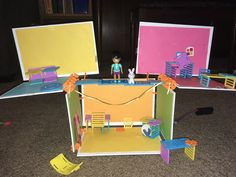 Emma created this with her Roominate set! Keep building Emma! Toddler Bed, Make It Yourself, Create, Toys, Building, Happy, How To Make, Home Decor, Child Bed