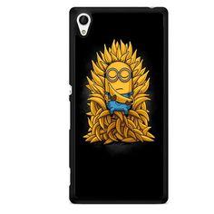 Minions Buddha Banana TATUM-7321 Sony Phonecase Cover For Xperia Z1, Xperia Z2, Xperia Z3, Xperia Z4, Xperia Z5