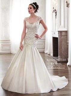 Maggie Sottero 2015 http://www.bridalreflections.com/bridal-dress-designers/maggie-sottero#