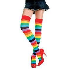 Women Crew Socks Thigh High Knee Happy Birthday Long Tube Dress Legging Casual Compression Stocking
