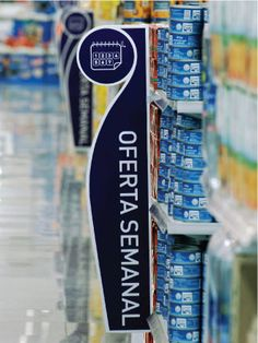 Supermarket Signage & Design | Retail Design | Shop Interiors | Supermarket Sign Design Paola Camano Diseño