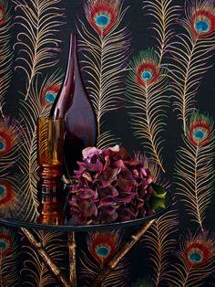 Sanderson Themis wallpaper, Available at Sasha Interiors - Hereford & Cheltenham.