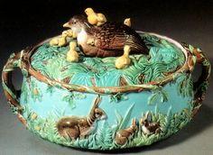 majolica garden pottery | Majolica pottery archive | Majolica.info