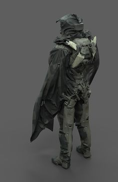 ArtStation - SNOW PATROL, by Alex FiginiMore robots here.