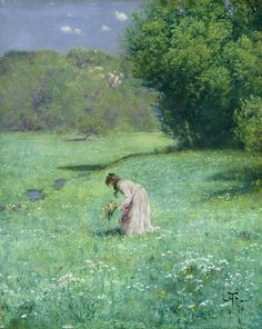 'Woodland Meadow' by Hans Thoma; Hamburger Kunsthalle, Hamburg There was not so much to choose from today but I am happy to ge. Canvas Wall Art, Wall Art Prints, Poster Prints, Hans Thoma, Max Ernst, Art Reproductions, Love Art, Find Art, Giclee Print