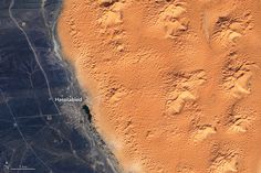 The Shallow Aquifers of Erg Chebbi : Image of the Day : NASA Earth Observatory Global Map, Remote Sensing, Image Of The Day, Earth Science, Global Warming, Shallow, Storms, Nasa, Morocco