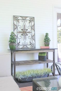 $50 DIY Console Table