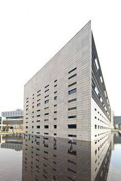 Bank of Shanghai Data Processing Center / Silvio d´Ascia