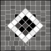 Mosaic stencils from The Stencil Library. Buy from our range of Mosaic stencils online. Page 1 of our Mosaic cornerpiece stencil catalogue. Mosaic Designs, Stencil Designs, Mosaic Patterns, Stone Mosaic, Mosaic Tiles, Stencils Online, Stencil Painting On Walls, Mosaic Flowers, Catalog Design